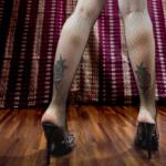 Meine Beine sind privat!